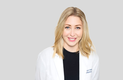 Dr. Carly Fox of the Animal Medical Center in New York City