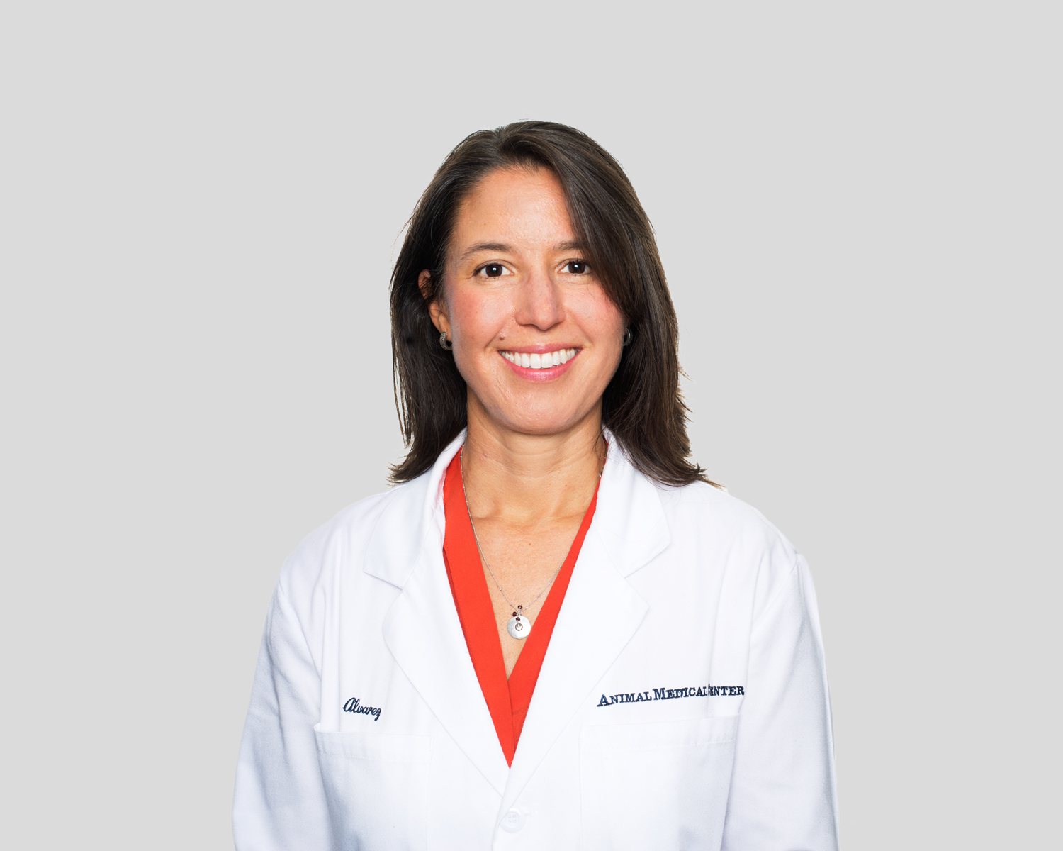 Dr. Leilani Alvarez of the Animal Medical Center in New York City