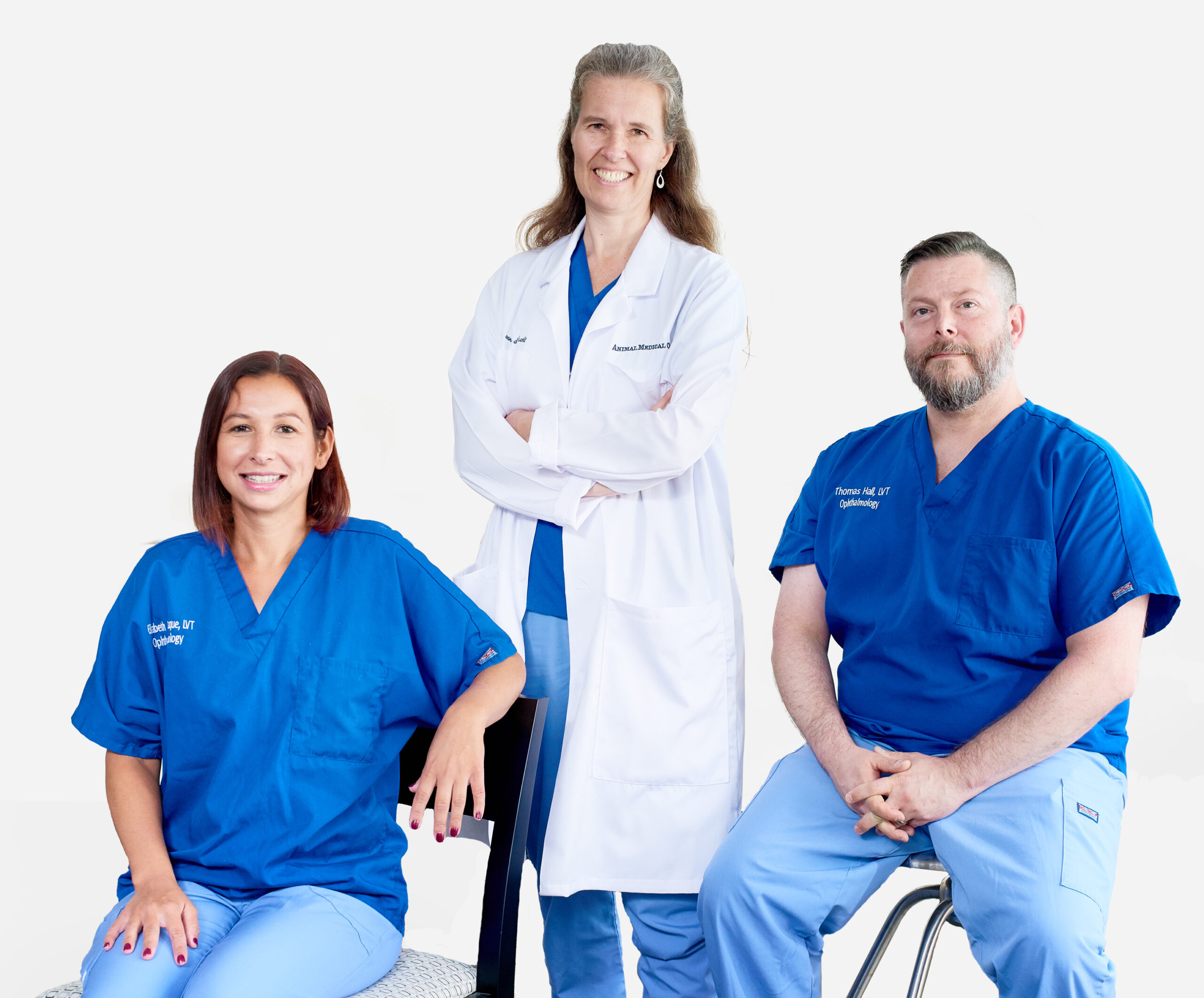 The opthalmology team