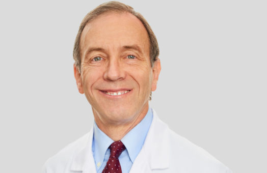 Dr. Philip Fox of the Animal Medical Center in New York City