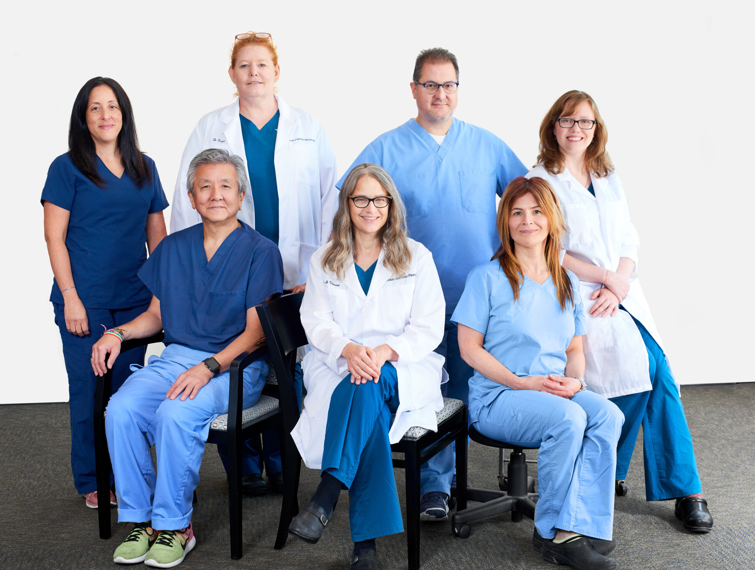 Radiation oncology team