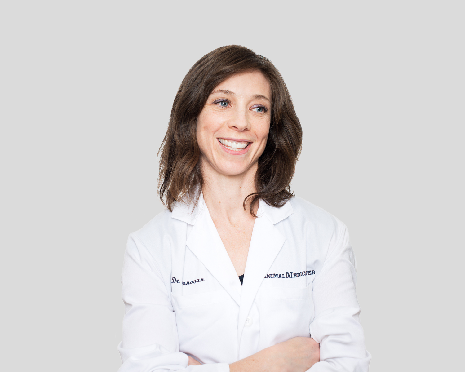 Dr. Taryn Donovan of the Animal Medical Center in New York City