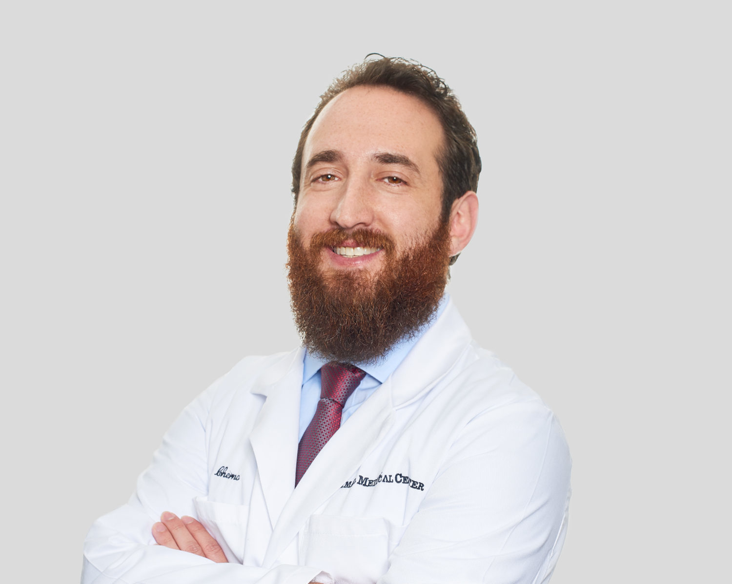 Dr. Barry Cherno of the Animal Medical Center in New York City