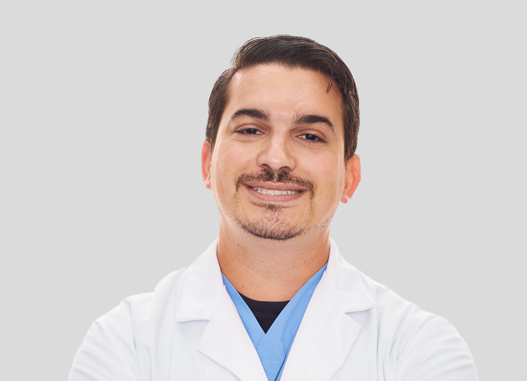 Dr. Brett Harling of the Animal Medical Center in New York City