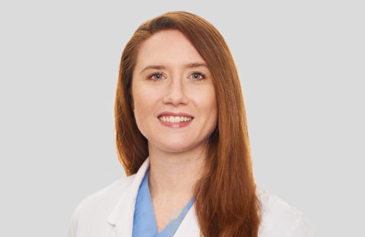 Dr. Crystal Sunlight of the Animal Medical Center in New York City