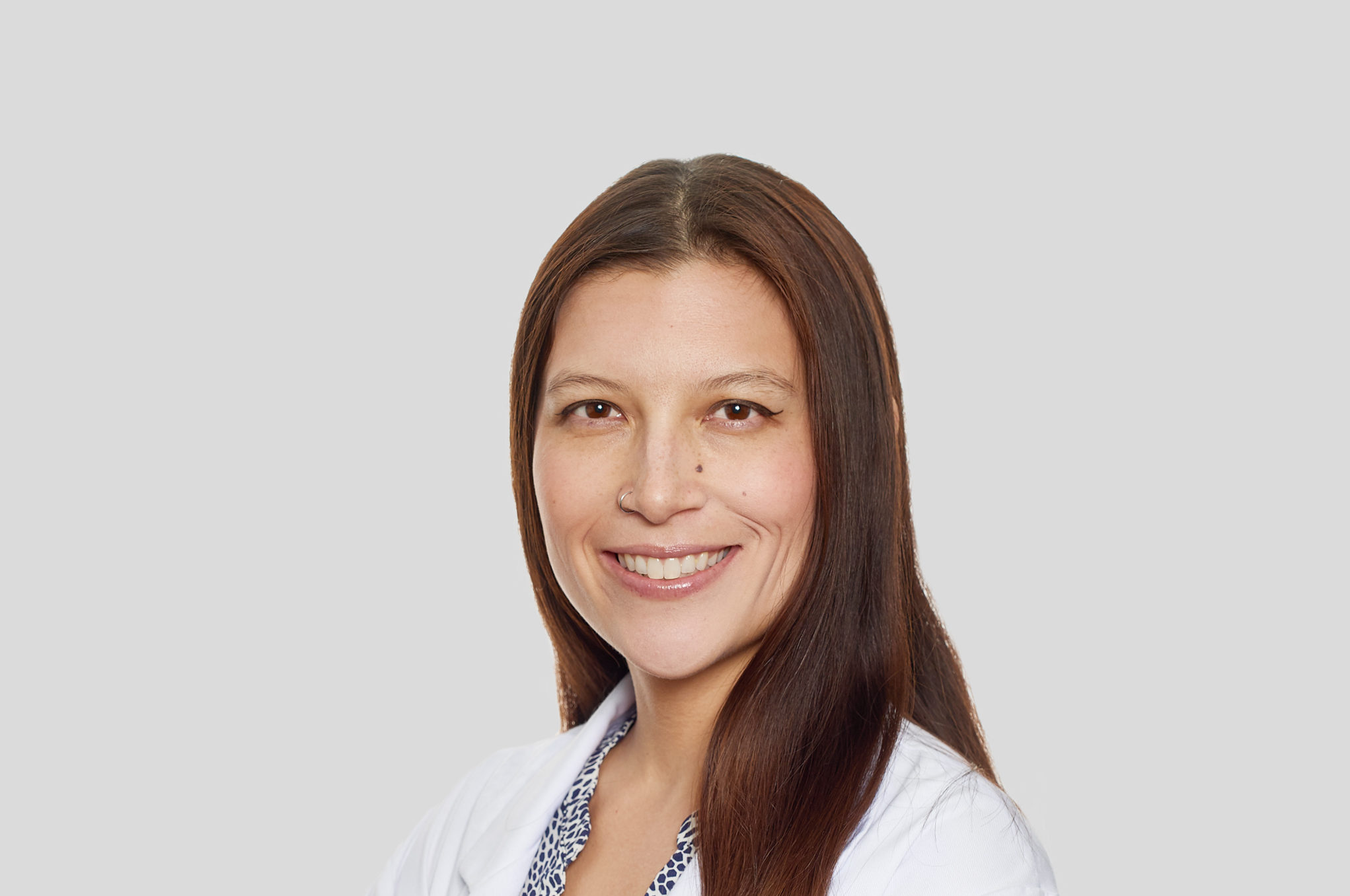 Dr. Jennifer Repac of the Animal Medical Center in New York City