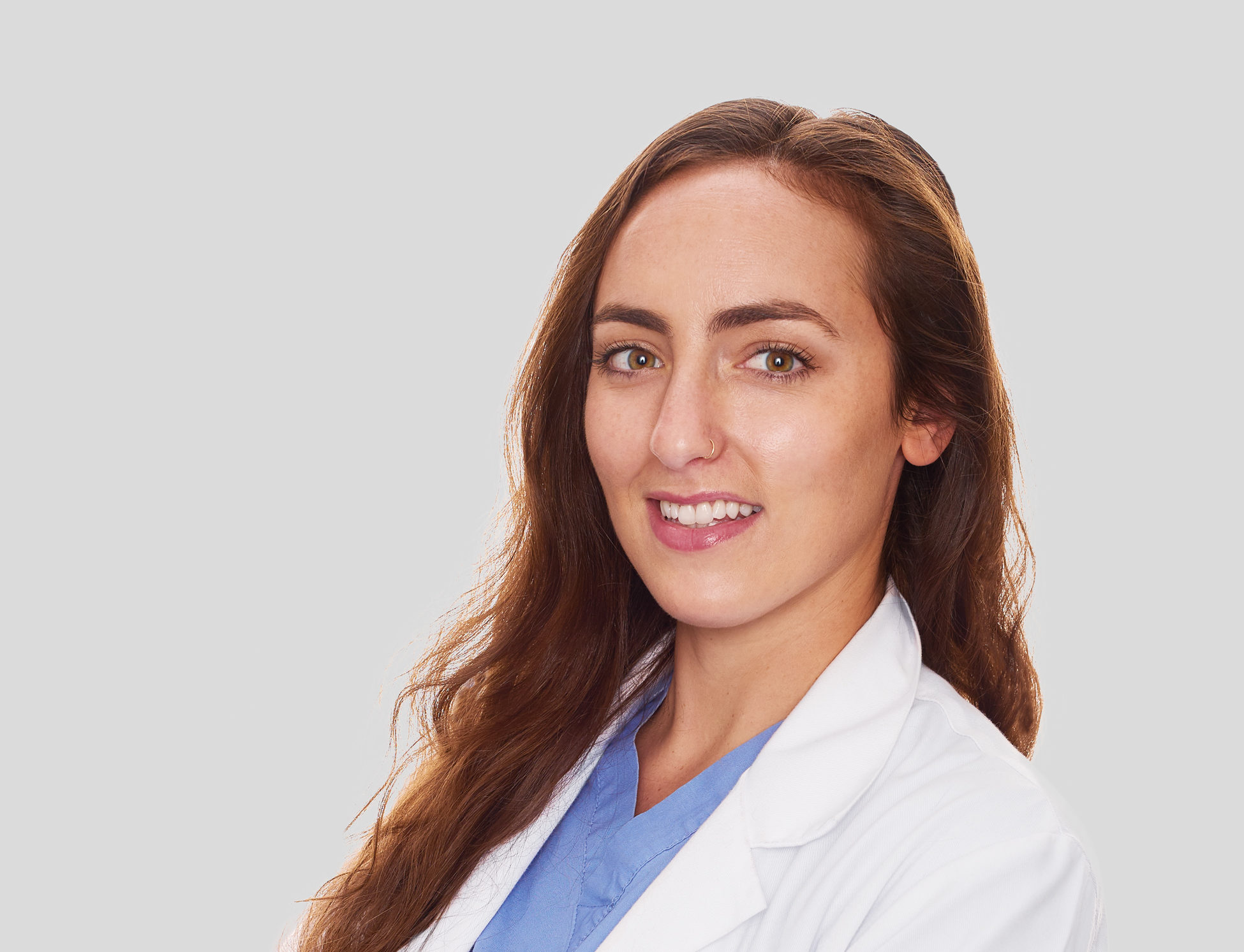 Dr. Jessica Himelman of the Animal Medical Center in New York City