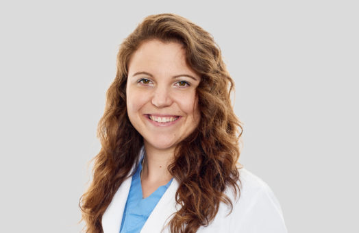 Dr. Lauren Wilmarth of the Animal Medical Center in New York City