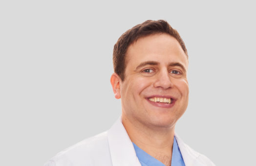 Dr. Max Emanuel of the Animal Medical Center in New York City