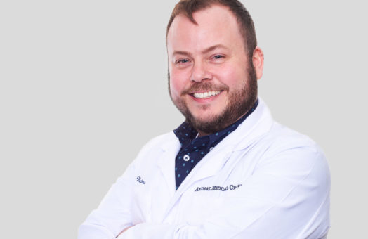Dr. Joel Weltman of the Animal Medical Center in New York City
