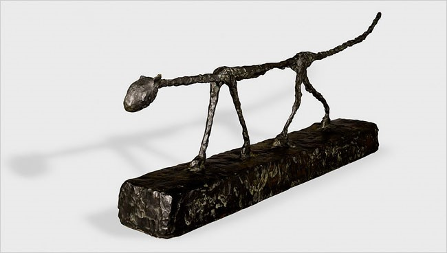 Alberto Giacometti's statue, The Cat