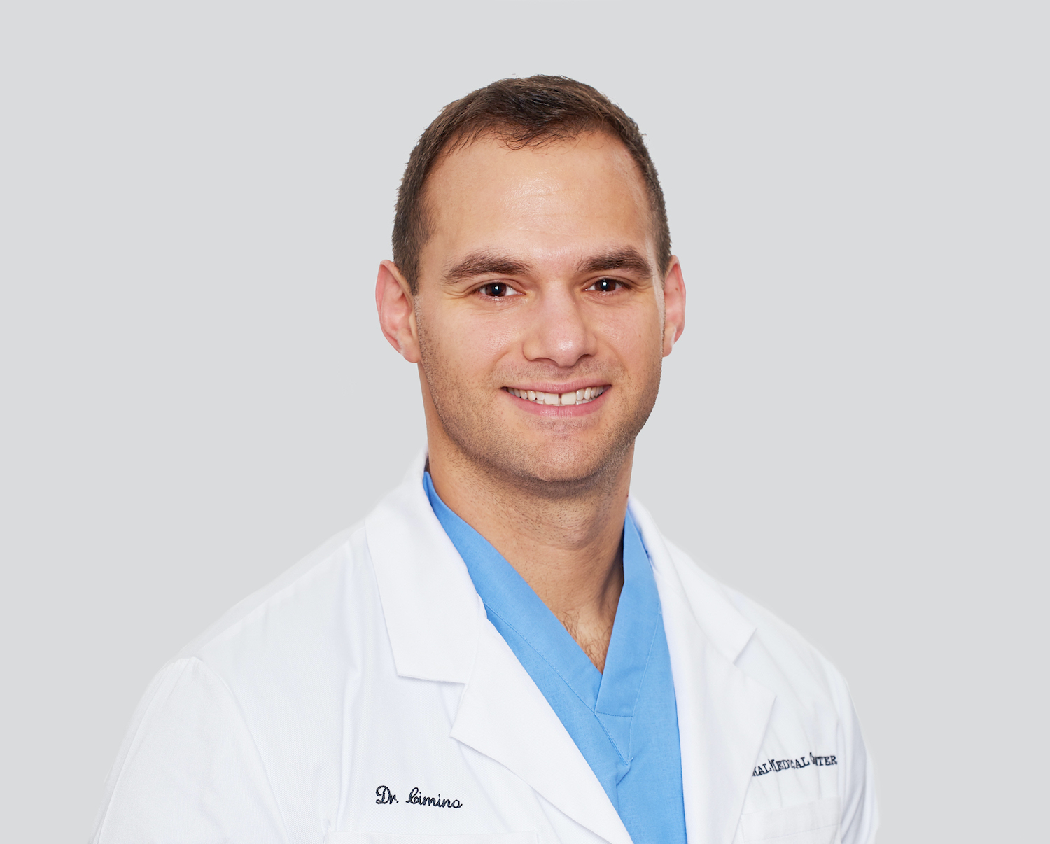 Dr. Daniel Cimino of the Animal Medical Center in New York City