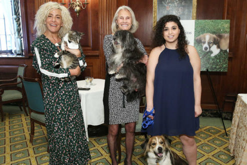 Living Legends honorees gather together with their animals
