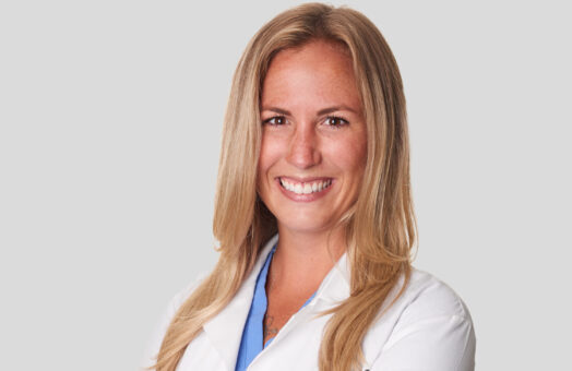 Dr. Leanna Wooley of the Animal Medical Center of New York City