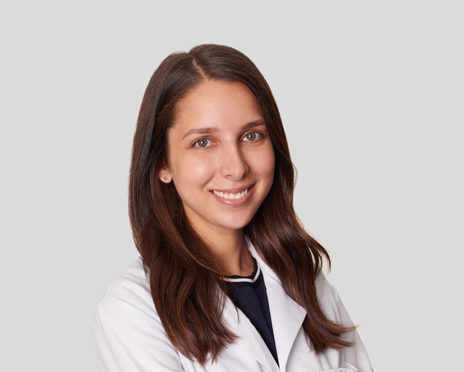 Dr. Mariel Covo of the Animal Medical Center of New York City