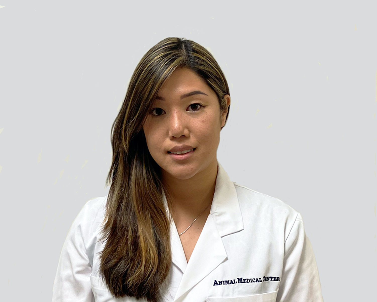 Dr. Samantha Wong of the Animal Medical Center in New York City