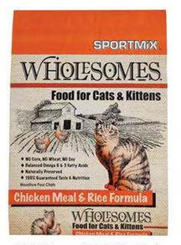 Wholesomes - Food for Cats & Kittens
