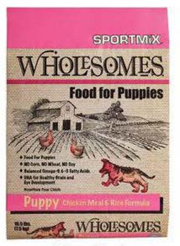 Wholesomes - Food for Puppies