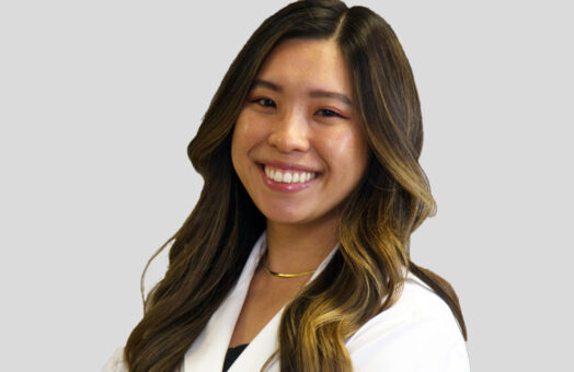 Dr. Danielle Tran of the Animal Medical Center in New York City