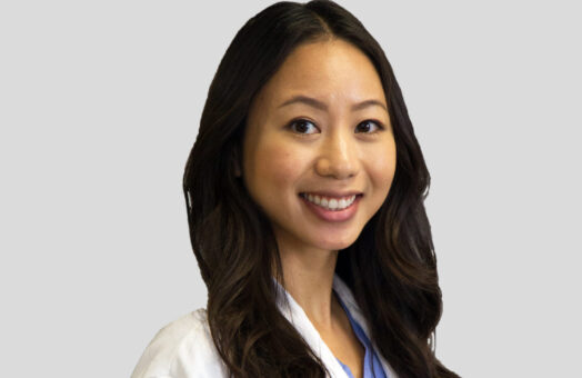 Dr. Helena Tran of the Animal Medical Center in New York City