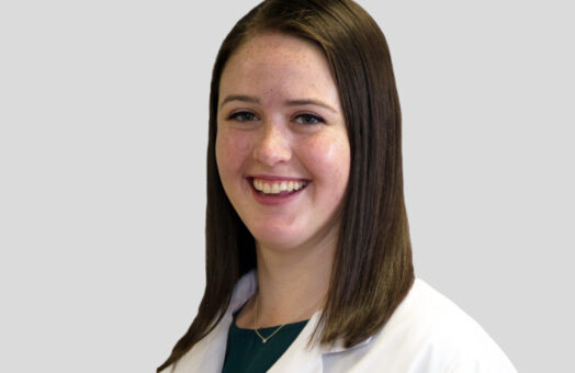 Dr. Shana Coffey of the Animal Medical Center in New York City
